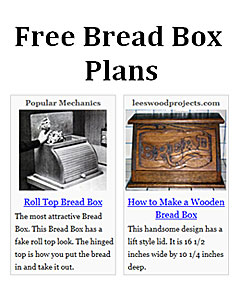 Bread Box Plans