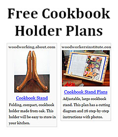 Cookbook Holder Plans | DIY Cookbook Stands