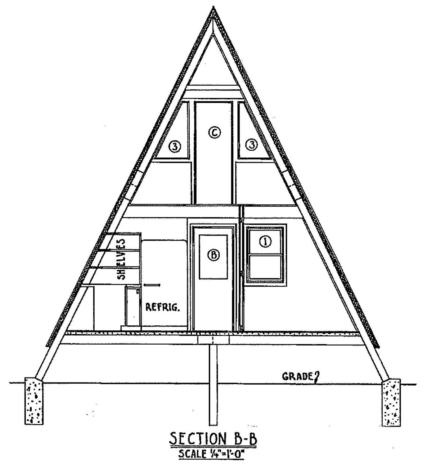 A Frame Cabin Plans 2 Bedroom A Frame Cabin Plans Free Do: Free A Frame Cabin Plan With 3 Bedrooms