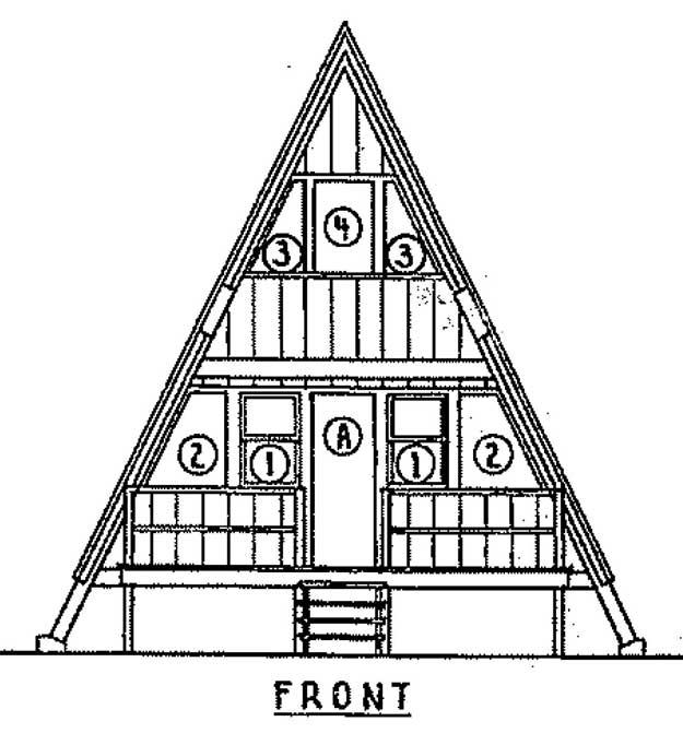 Diy a frame house plans