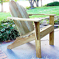 Kay la adirondack chair plans composite - Patterns for adirondack chairs ...