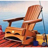 Adirondack rocking chair here s a great rocking chair that