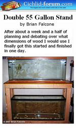 Diy Double 55 Gallon Aquarium Stand Plans Diy Free Download Making A Step Stool Woodwork Restoration