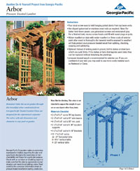 Do-it-Yourself Arbor Design PDF Picture