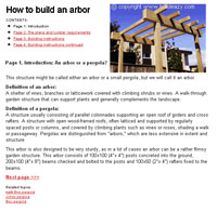 How to Build an Arbor Picture