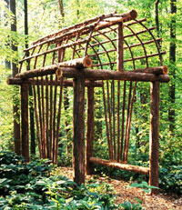Rustic Arbor Ideas Photo