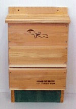 Single Chamber Bat House - Looker Products