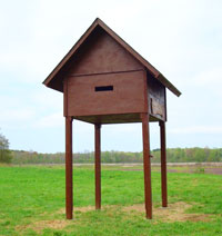 Bat Condo for over 6,000 Bats Picture