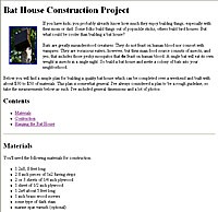 Bat House Construction Project Image