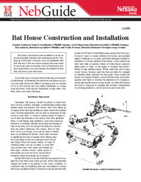 Bat House Construction and Installation PDF Photo