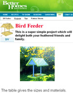 Bird Feeder Plans Free Photo