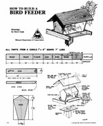 Gazebo Bird Feeder Plans|Plan for Building a Decorative Bird