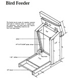 Cedar Hopper Bird Feeder Plans