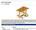 Free curvy birdhouse plans