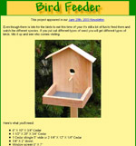 diy bird feeder plans plans building book shelf fireplace ehow plans ...