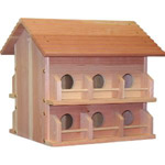 Wooden Purple Martin House