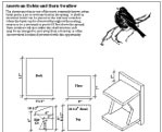 Robin birdhouse design woodideas for American house plans free