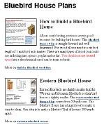 Free Bluebird House Plans