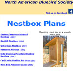 North American Bluebird Society Nestbox Plans