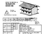 Purple Martin House Plans Free Martin House Plans