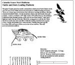 Canada Goose Nesting Platform