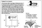 Mallard Duck Nesting Platform