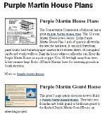 Martin House Plans