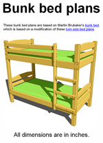 Free Bunk Bed Designs