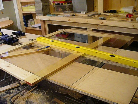 cabinet building picture