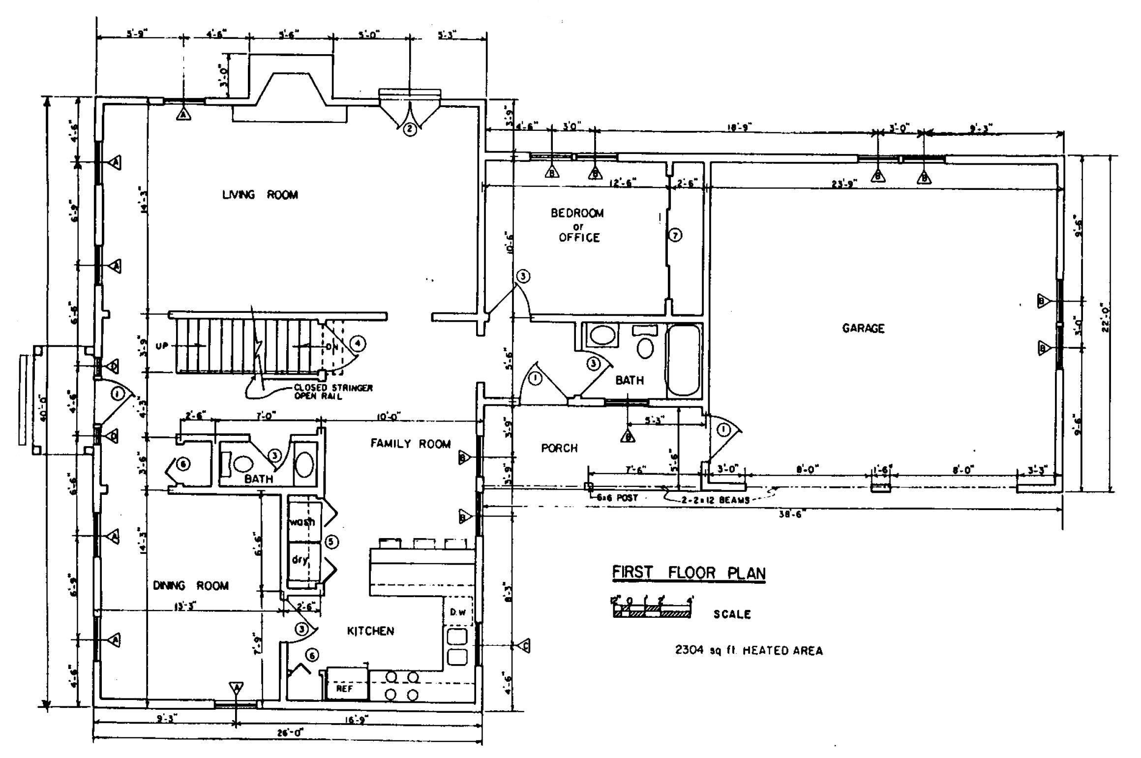 Free colonial house plans colonial house floor plans for Floor plan blueprints free