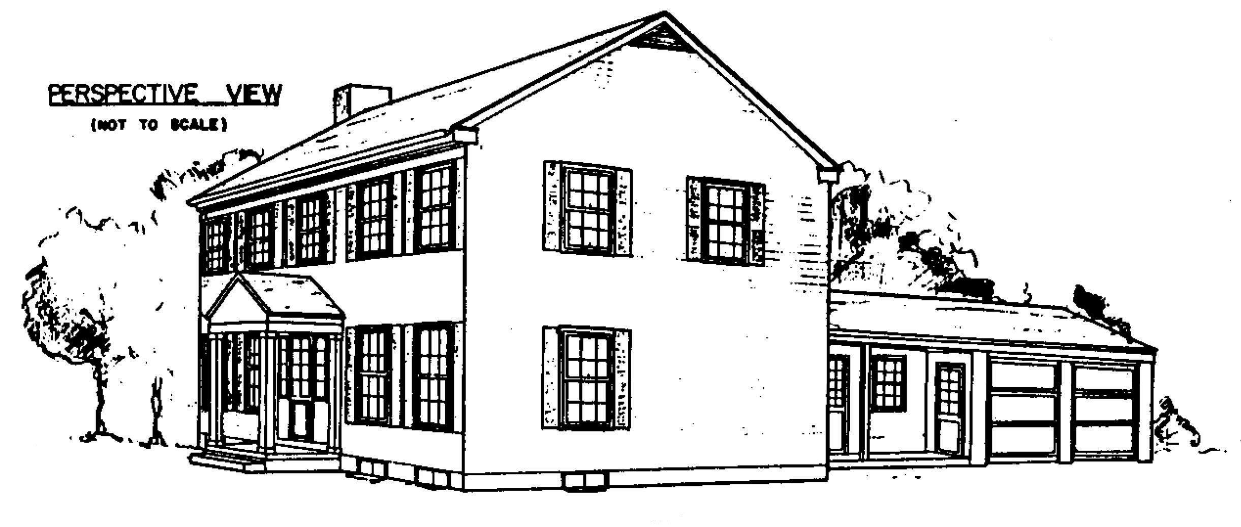 Free colonial house plans colonial house floor plans for Colonial home floor plans