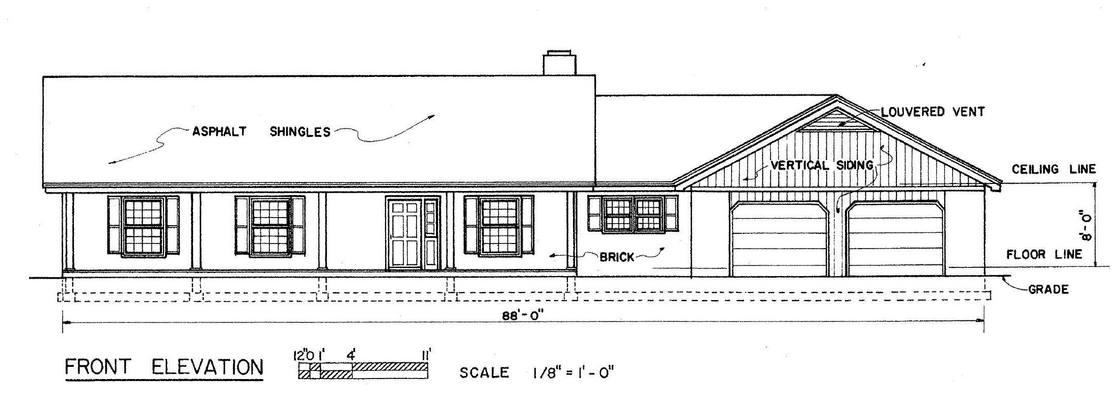 Free Ranch House Plan