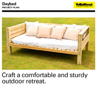 Daybed Plans | How to Make a Daybed