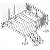 How to build a 10x10 wood deck pdf woodworking for 10 x 8 deck plans