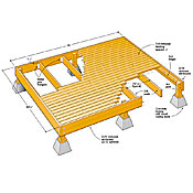10 x 12 freestanding deck plans book covers 10x10 deck plans