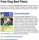 Dog Bed Designs