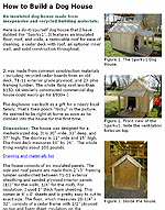 Dog House Plans 2011 - How To Build A Dog House