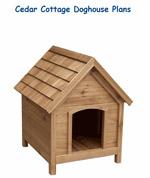 Cedar Dog House Plans