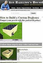 Making a Custom Dog House