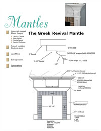 Fireplace Mantel Plans How To Build A Fireplace Surround