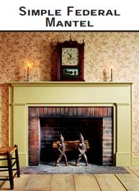 Simple Fireplace Mantel Shelf Plans