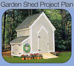 Build Your Own Garden Shed Image