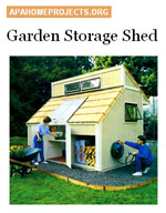 Garden Storage Shed Photo