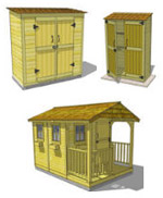 Garden Shed Kit Assembly Manuals Image