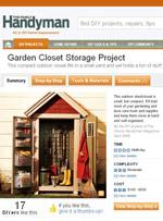 Garden Closet Storage Shed Image