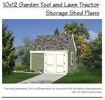 Large Garden Shed Plans Image