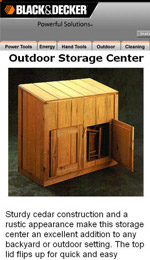 Outdoor Storage Shed Image