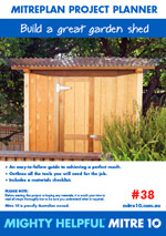 Build a Great Garden Shed Picture