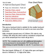 Small Garden Shed Plans Image