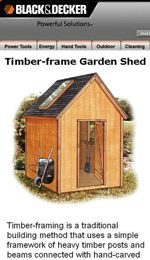 Timber Frame Garden Shed Plans Picture